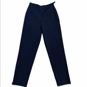 Talbots Career Trousers Navy Blue